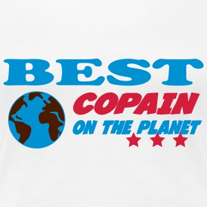 Best copain on the planet T-shirts - Vrouwen Premium T-shirt