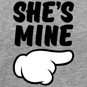 She\'s Mine (Comic Hand) Part 2 T-Shirts - Men's Premium T-Shirt