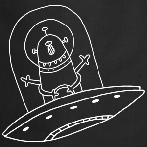 Extraterrestrial Alien Baby Bébé Birth Kid [MG]  Aprons - Cooking Apron