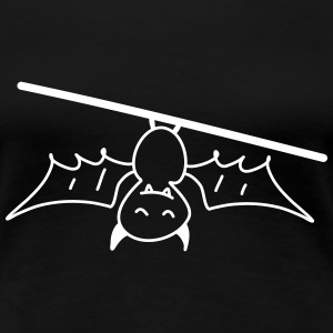 Fledermaus Halloween Bauer Landwirt tier Kind Baby T-Shirts - Frauen Premium T-Shirt