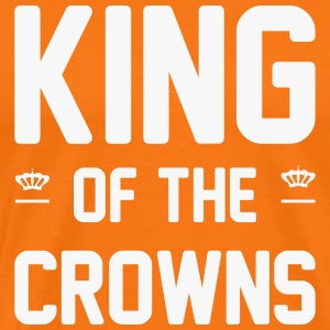 King of the crowns T-shirts - Mannen Premium T-shirt