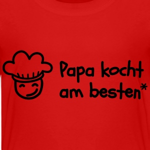Dad cooks best Shirts - Kids' Premium T-Shirt