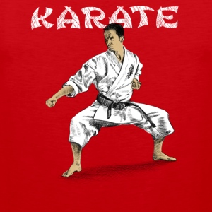karate Tank Tops - Men's Premium Tank Top