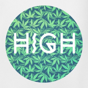 HIGH / cannabis Hipster Typo - Pattern Design  Trousers & Shorts - Men's Football shorts