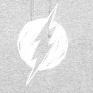 Justice League Flash Logo painted Pull  - Sweat-shirt à capuche unisexe