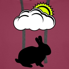 Bunny with cloud and Sun