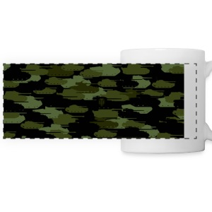 World of Tanks Tank Camouflage Mug - Panoramakrus