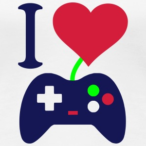I love my Station Box Pro Gaming Controller T-Shirts - Frauen Premium T-Shirt
