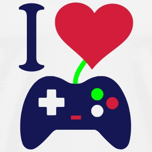 I love my Station Box Pro Gaming Controller T-Shirts - Männer Premium T-Shirt