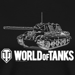 World of Tanks Jagdtiger Men T-Shirt - Maglietta Premium da uomo
