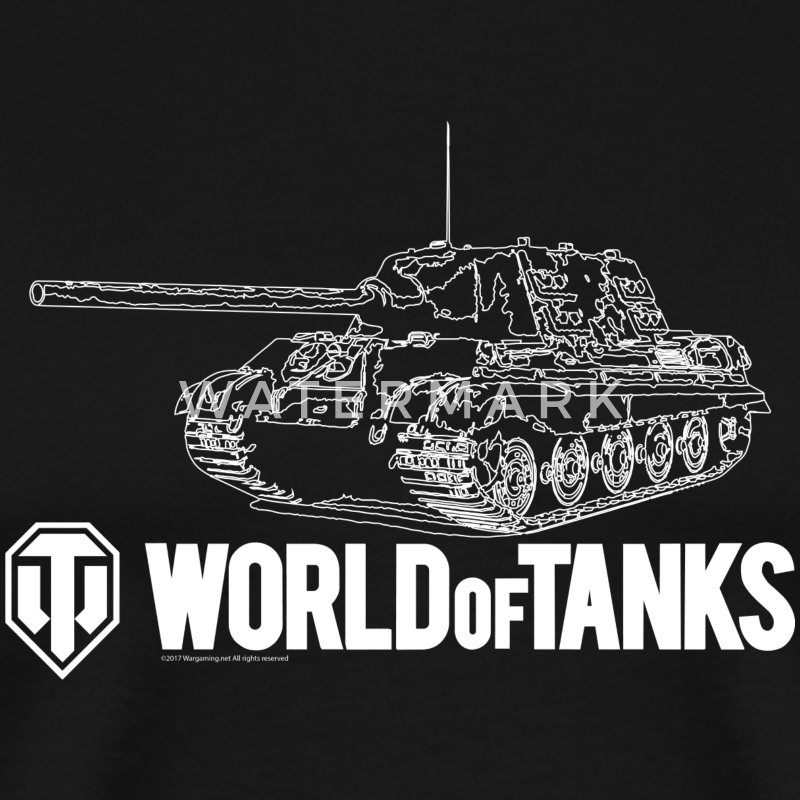 World of Tanks Jagdtiger Men T-Shirt - Koszulka męska Premium