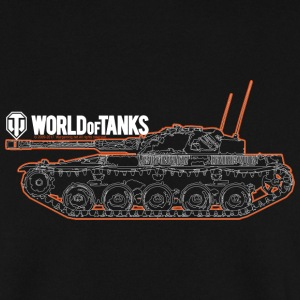 World of Tanks Orange Outline Men Sweater - Felpa da uomo