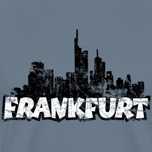 Skyline Frankfurt Vintage