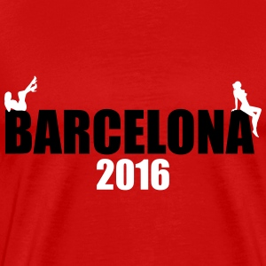 Barcelona 2016 Sexy girls T-Shirts - Men's Premium T-Shirt