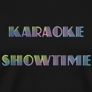 Karaoke showtime - Men's Premium T-Shirt