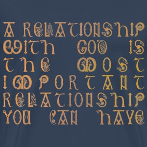 Relationship with God - Men's Premium T-Shirt