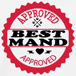 Approved best mand T-shirts - Herre premium T-shirt