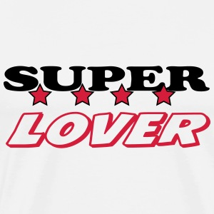 Super lover T-shirts - Mannen Premium T-shirt