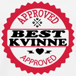 Approved best kvinne T-skjorter - Premium T-skjorte for menn