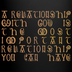 Relationship with God - Full Colour Mug