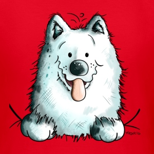 Cute Samoyed Dog T-Shirts - Women's T-Shirt