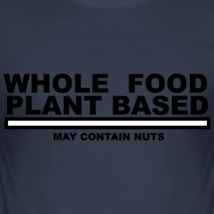 Whole Food Nut - Men's Slim Fit T-Shirt