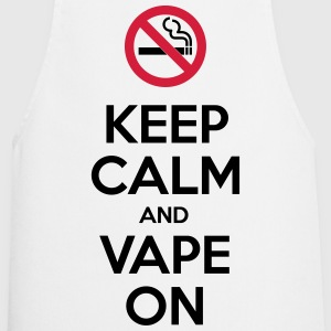 Keep Calm and Vape On  Aprons - Cooking Apron