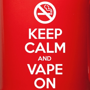 Keep Calm and Vape On Mugs & Drinkware - Full Colour Mug