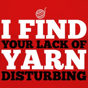 I find your lack of yarn disturbing Langarmshirts - Frauen Premium Langarmshirt