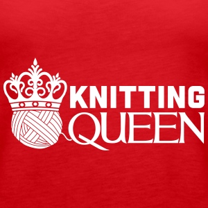 Knitting queen Tops - Vrouwen Premium tank top