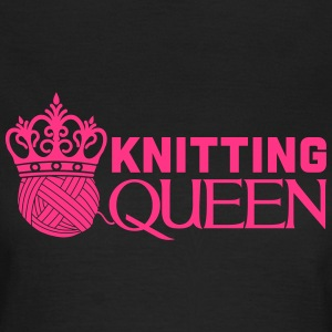 Knitting queen T-skjorter - T-skjorte for kvinner