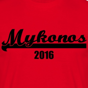 Mykonos2016 T-Shirts - Men's T-Shirt
