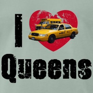 I love Queens NYC New York City Big Apple - Männer Premium T-Shirt