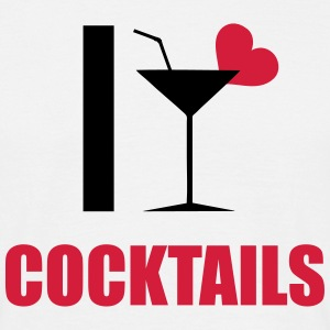 ILoveCocktails1 T-Shirts - Men's T-Shirt