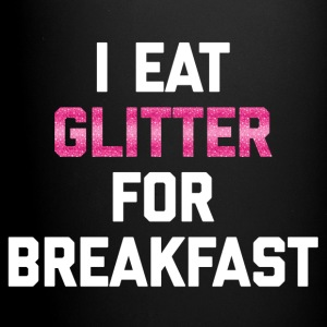 Eat Glitter Breakfast 2 Funny Quote Mokken & toebehoor - Mok uni