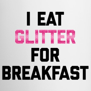 Eat Glitter Breakfast Funny Quote Mokken & toebehoor - Mok