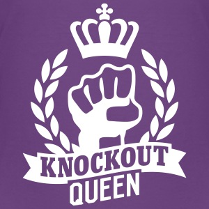 Knockout Queen Shirts - Teenage Premium T-Shirt