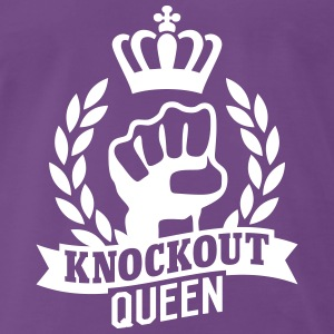 Knockout Queen T-shirts - Herre premium T-shirt