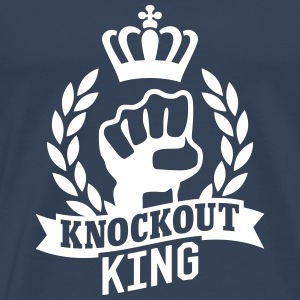 Knockout King T-skjorter - Premium T-skjorte for menn