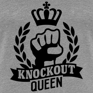 Knockout Queen T-shirts - Vrouwen Premium T-shirt