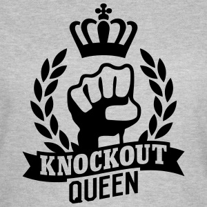 Knockout Queen Camisetas - Camiseta mujer