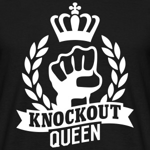 Knockout Queen T-skjorter - T-skjorte for menn
