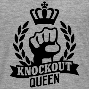 Knockout Queen Long sleeve shirts - Men's Premium Longsleeve Shirt
