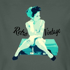 Retro Vintage Pin Up Girl