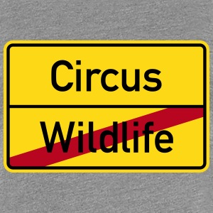 Wildlife Circus Hen Party City Sign T-Shirts - Women's Premium T-Shirt