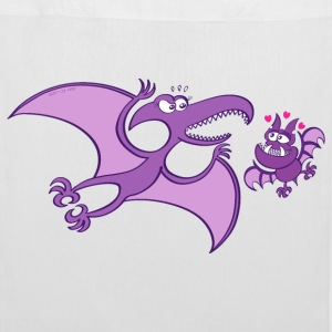 Bat Madly in Love with a Pterodactylus Bags & Backpacks - Tote Bag