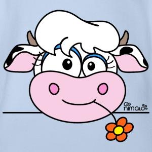 Vache avec fleur (by nimalo.com)