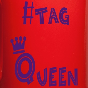 #tag Queen - Full Colour Mug