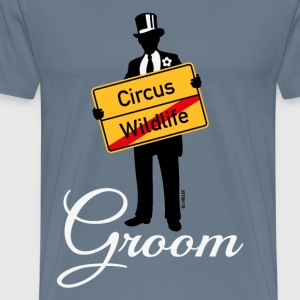 Circus Wildlife Groom (Bridegroom Stag Party PNG) T-Shirts - Men's Premium T-Shirt