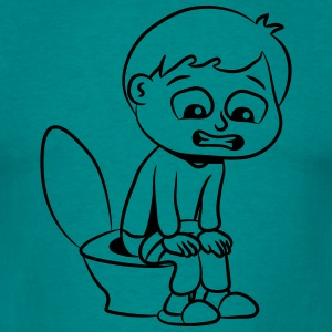 wc little boy T-Shirts - Men's T-Shirt